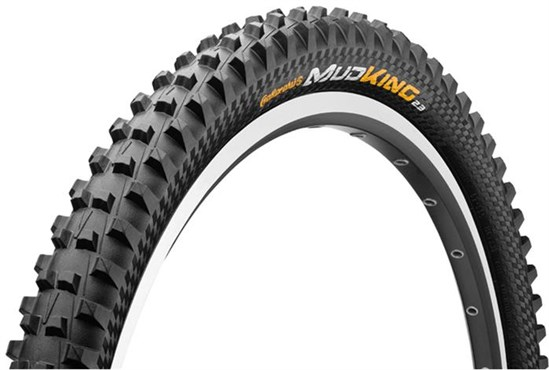 Image of Continental Mud King Protection 26 Black Chili Folding MTB Tyre