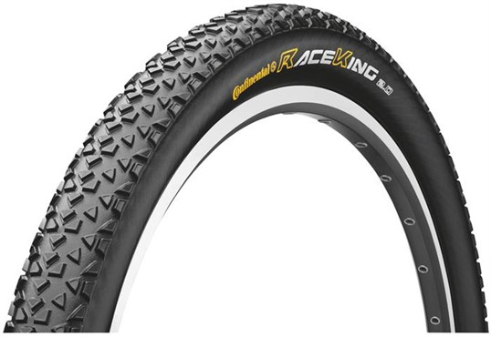 Image of Continental Race King RaceSport 26 Black Chili Folding Tyre