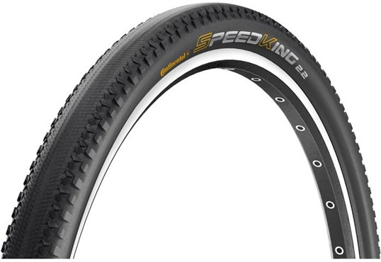 Image of Continental Speed King II RaceSport 650b Black Chili Folding Tyre