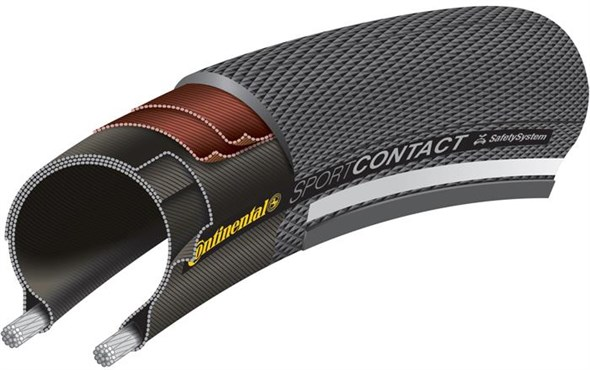 Continental Sport Contact II Commuter Tyre