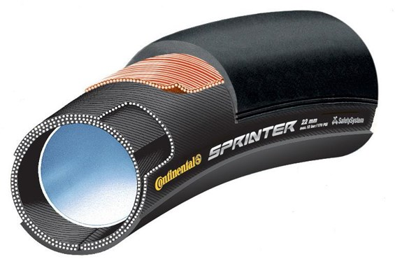 Image of Continental Sprinter Tubular Road Tyres