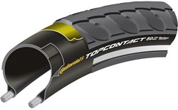 Image of Continental Top Contact II Reflective 700c Hybrid Folding Tyre