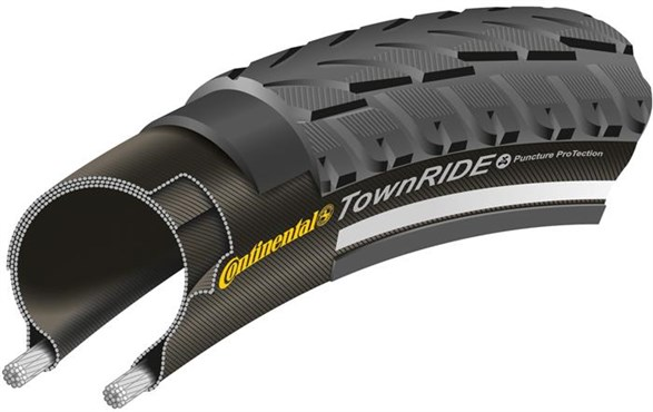 Image of Continental Town Ride Reflective 26 inch MTB Tyre