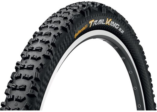 Continental Trail King UST 26 inch Black Chili Folding Off Road MTB Tyre
