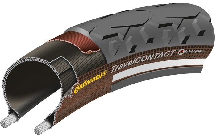 Continental Travel Contact Reflex MTB Urban Tyre