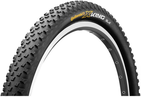 Image of Continental X-King RaceSport 27.5 inch Black Chili Folding Off Road MTB Tyre