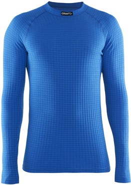 Image of Craft Warm Wool Crew Neck Long Sleeve Base Layer