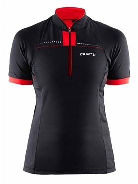 Image of Craft Womens Move Short Sleeve Cycling Jersey