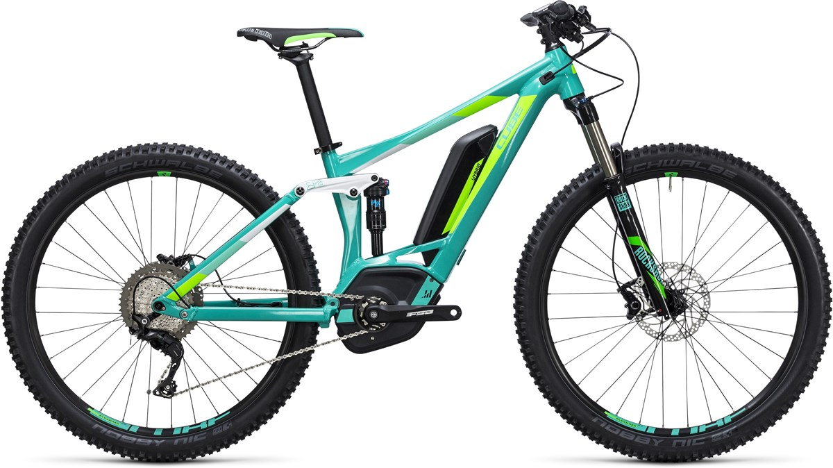 "Cube Access WLS Hybrid 120 SL 500 27.5"" Womens  2017 Electric Mountain Bike"