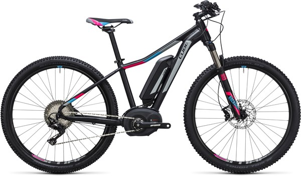 Image of Cube Access WLS Hybrid Race 500 29er Womens 2017 Electric Bike