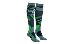 Image of Cube Action Knee High Cycling Socks