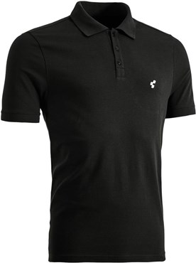 Image of Cube After Race Series Cube Logo Print Polo Shirt