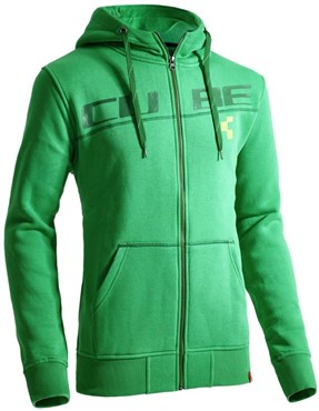 Cube After Race Series Diagonal Zip Hoody