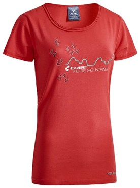 Image of Cube After Race Series Fichtelmountains WLS Womens T-Shirt