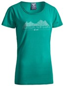 Image of Cube After Race Series Green Fichtelmountains WLS Womens T-Shirt