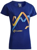 Image of Cube After Race Series Hills WLS Womens T-Shirt