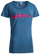 Image of Cube After Race Series Mountains WLS Womens T-Shirt