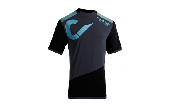 Image of Cube All Mountain Roundneck Short Sleeve Cycling Jersey