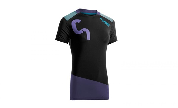 Image of Cube All Mountain WLS Roundneck Womens Short Sleeve Cycling Jersey