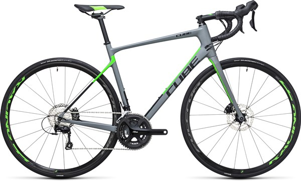 Image of Cube Attain GTC Pro Disc 2017 Road Bike