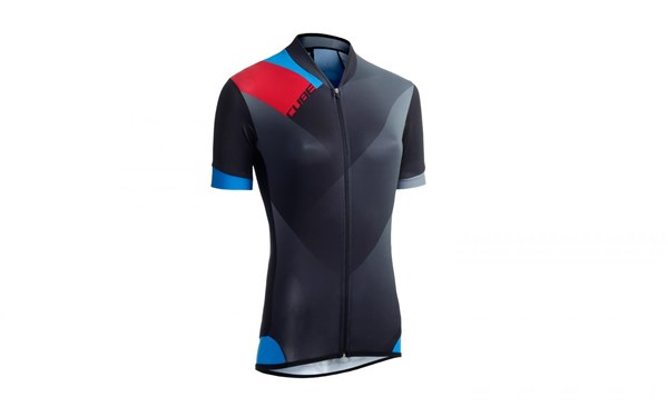 Image of Cube Black Zero WLS Womens Short Sleeve Cycling Jersey