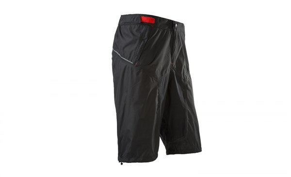 Image of Cube Blackline Baggy Cycling Rain Shorts