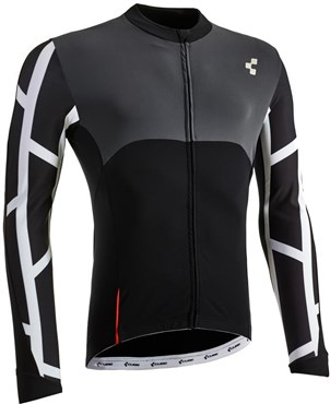 Image of Cube Blackline Long Sleeve Cycling Jersey