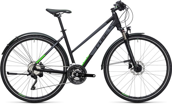 Image of Cube Cross Allroad 28 Trapeze  2017 Hybrid Bike