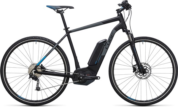 Image of Cube Cross Hybrid Pro 400 28  2017 Electric Bike