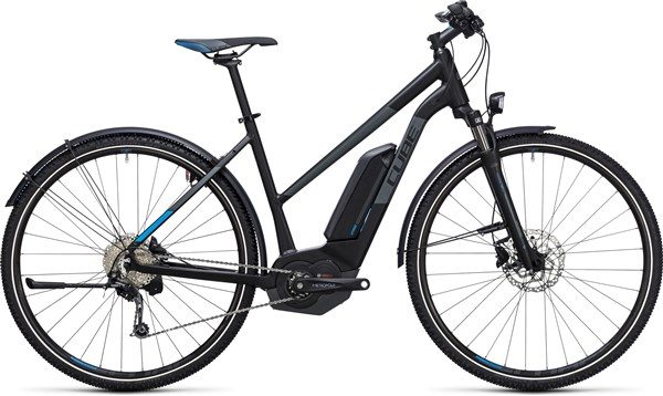 Image of Cube Cross Hybrid Pro Allroad 400  Trapeze  2017 Electric Bike