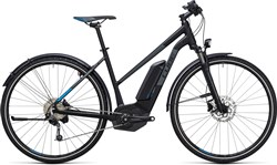 Image of Cube Cross Hybrid Pro Allroad 400 Trapeze  2017 Electric Hybrid Bike