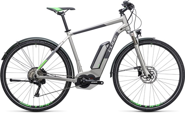 Image of Cube Cross Hybrid Race Allroad 500  2017 Electric Bike