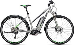 Image of Cube Cross Hybrid Race Allroad 500 Trapeze  2017 Electric Hybrid Bike