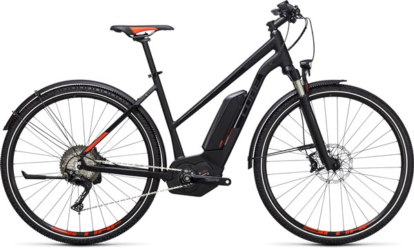 Image of Cube Cross Hybrid SL Allroad 500  Trapeze  2017 Electric Bike
