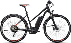 Image of Cube Cross Hybrid SL Allroad 500 Trapeze  2017 Electric Hybrid Bike