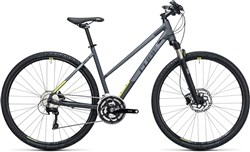 Image of Cube Cross Pro  Trapeze  2017 Hybrid Bike