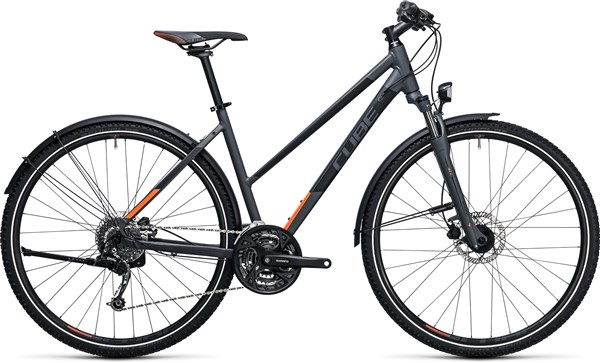 Image of Cube Curve Allroad  Trapeze  2017 Hybrid Bike