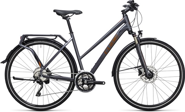 Image of Cube Delhi Exc  Trapeze  2017 Hybrid Bike