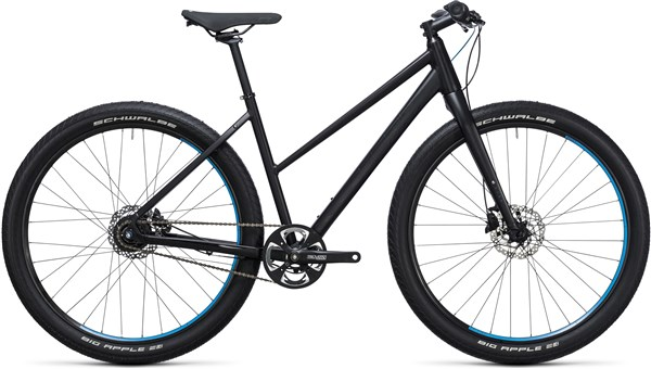Image of Cube Hyde Pro 28 Trapeze  2017 Hybrid Bike
