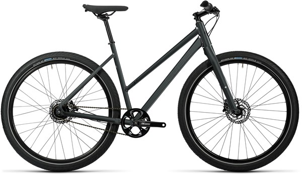 Image of Cube Hyde Pro Trapeze Womens  2016 Hybrid Bike