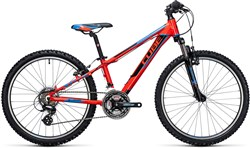 Image of Cube Kid 240 Action Team 24W  2017 Junior Bike