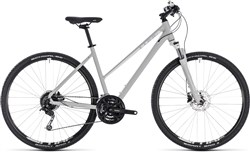 Image of Cube Nature Pro Trapeze Womens 2018 Hybrid Bike