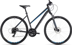 Image of Cube Nature Trapeze Womens 2018 Hybrid Bike