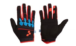 Image of Cube Race Armourgel Long Finger Cycling Gloves