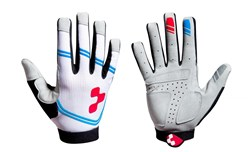 Image of Cube Race Long Finger Cycling Gloves
