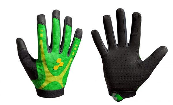 Image of Cube Race Touch Long Finger Cycling Gloves