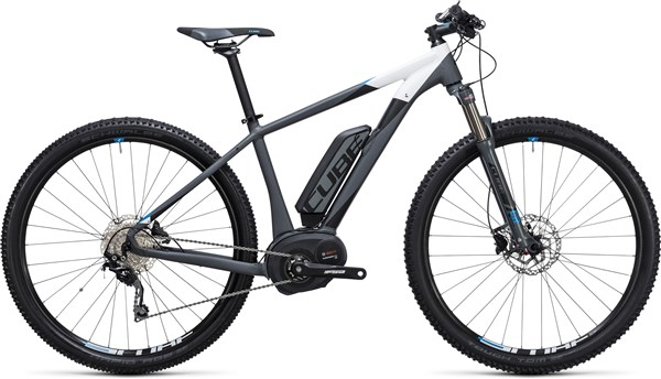"Image of Cube Reaction Hybrid HPA Pro 400 27.5""  2017 Electric Bike"