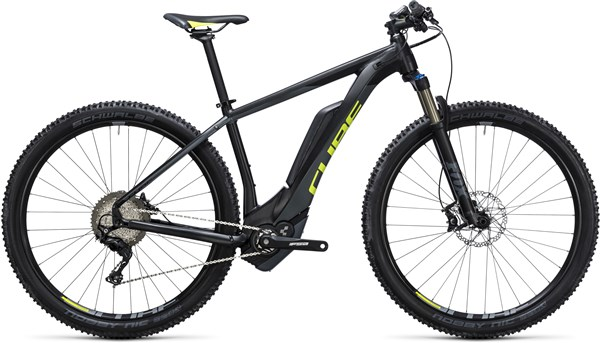 Image of Cube Reaction Hybrid HPA SLT 500 29er 2017 Electric Bike