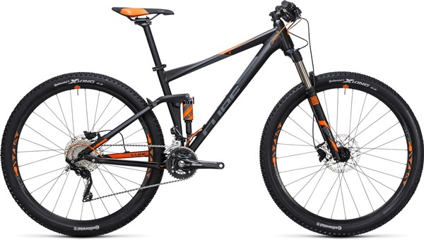 "Image of Cube Stereo 120 HPA Pro 27.5""  2017 Mountain Bike"