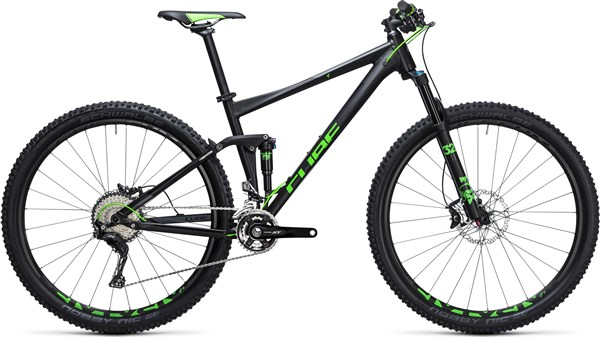 Cube Stereo 120 HPA SL 29er 2017 Mountain Bike